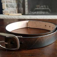 Vintage Distressed Leather Belt Black Brown Genuine Full Grain | Etsy Brown Leather Belt, Distressed Leather, Black Belt, Brass Buckle, Belt Buckles, Gifts For Him, Olive Green, Antique Silver, Black And Brown