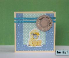 Boy's birth card