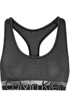 Calvin Klein Underwear | Brassière de sport en jersey stretch Magnetic Force | NET-A-PORTER.COM