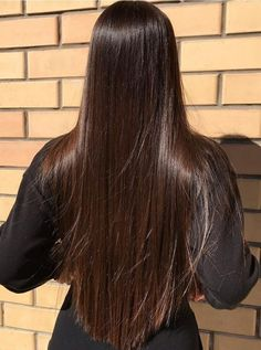 Long Silky Hair, Long Dark Hair, Beautiful Long Hair, Gorgeous Hair, Brown Hair Balayage, Aesthetic Hair, Brunette Hair, Big Hair, Hair Looks