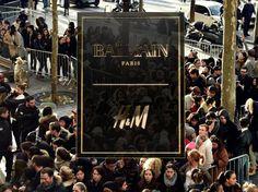 Collection Balmain X H&M : La frénésie