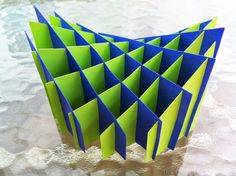 Papercrafts and other fun things: The Coolest sliceform - Hyperbolic Paraboloid