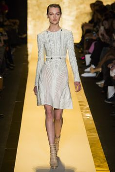 See the Herve Leger by Max Azria autumn/winter 2015 collection