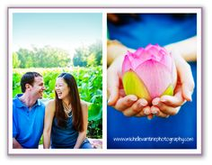 DC Wedding Photographer: Michelle VanTine: Lotus Engagement Session