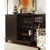 Bastille Bar Cabinet- I've always wanted one of these.