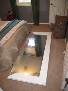 Closet Mirrors to Floor Mirrors
