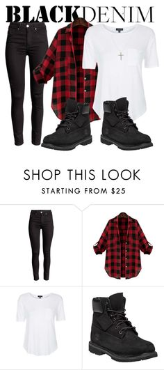 """""""Shyann #2"""" by kkai ❤ liked on Polyvore featuring Topshop, Timberland, Joop!, women's clothing, women's fashion, women, female, woman, misses and juniors"""