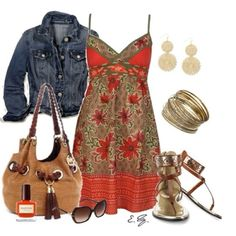 This summer outfit caught my eye right away! Very cute