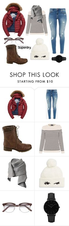 """""""The Cover Up – Jackets by Superdry: Contest Entry"""" by woahits-emma ❤ liked on Polyvore featuring Fuji, Ted Baker, Beston, Saint James, Acne Studios, Kate Spade, CLUSE and Superdry"""