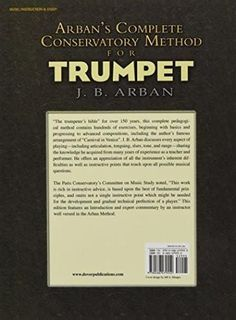 Prescott technic system for arban trumpet by prescott gerald r arbans complete conservatory method for trumpet dover books on music fandeluxe Choice Image