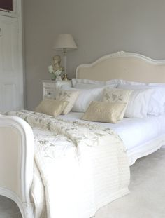 Love this french style bed.