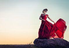 Conceptual fashion photography.