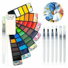 Golden Maple Fuumuui Aquarellfarbe Set 42 Farben Mit 6 St Ck