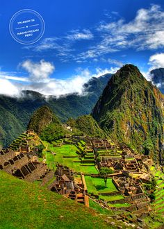 Machu Picchu Peru - I want to travel here!! Taken by the awesome Jchong.