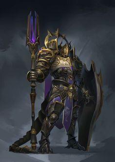 ArtStation - Dark Dragon Knight, shaofu Liu