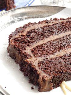 Chocolate Cream, Chocolate Cake, Cake Bars, Party Desserts, Yams, Greek Recipes, Tiramisu, Banana Bread, Biscuits