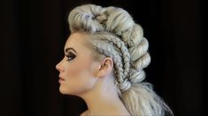 Metropolis Salon & Spa specializes in women's haircuts, hair color, beauty services and bridal makeup in Princeton NJ. Hairstyles Haircuts, Braided Hairstyles, Wedding Hairstyles, Cool Hairstyles, Avant Garde Hairstyles, Bridal Hairstyle, Competition Hair, Tribal Hair, Viking Hair