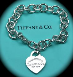 Tiffany & Co. Heart Tag Return to Tiffany Charm Bracelet <3