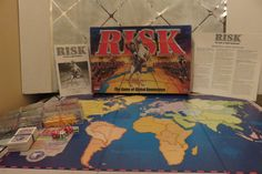 1998 RISK The Game of Global Domination Board Game - COMPLETE! by Hasbro…