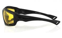 Black Frame/Yellow Lens - Side View #bobster @bobstereyewear #sunglasses #sunglass #sunnies #anysunglasses www.anysunglasses.com www.pinterest.com/anysunglasses