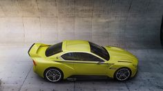 New 2015 3.0 CSL looks elegant from above