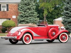 1933 Hupmobile Model 'Boattail' Roadster by Raulang Golden Ticket Template, Old Classic Cars, Motor Car, Antique Cars, Vehicles, Graham, Badass, Automobile, Model
