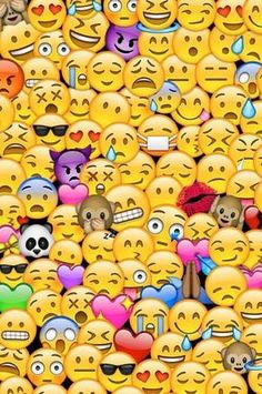 wallpaper, emojis, and emoji resmi
