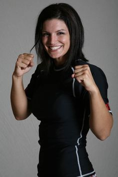 Love her hair. Gina Carano - Women's MMA. Muay Thai