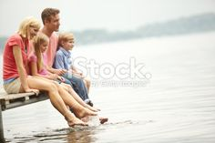 Experiencing this peaceful time together Royalty Free Stock Photo
