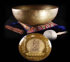 Tibetan Singing BowlTara Buddha 26 cm