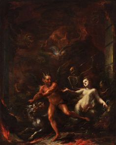 At the Gates of Hell (1703-08 / Oil on canvas) - Giacomo del Po