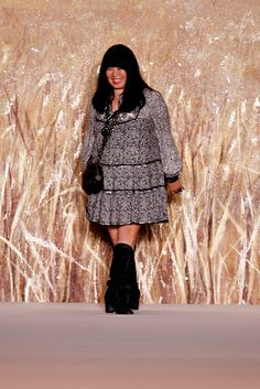 Anna Sui spring 2011 ready to wear collection.