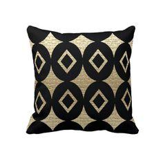 Contemporary Abstract  African Design Pillow