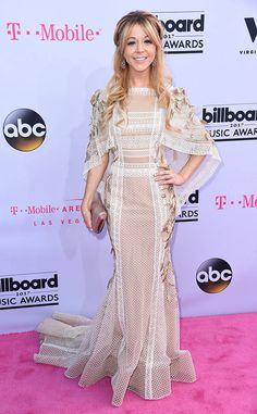 Lindsey Stirling from Billboard Music Awards 2017: Red Carpet Arrivals  The violinist went for a light and flowy look at the Billboard Music Awards.