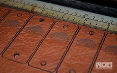 Lasergravur Leder - Wollmützen