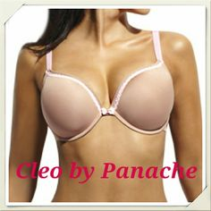 Cleo Jude T-shirt Bra Nude NWT Molded underwire cups with lace trim. 50% nylon 44% polyester 6% elastane Panache Intimates & Sleepwear Bras