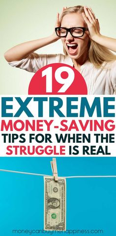 Extreme frugal living tips for when you are broke as hell! Don't have a dime to spare? These tips for saving money when you're struggling will help you figure out the best way to keep your head above water when times are tough.