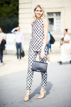 Street Chic: Amazing street style at Paris couture on Elena Perminova