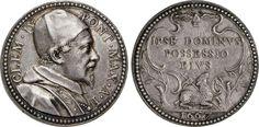 "NumisBids: Numismatica Varesi s.a.s. Auction 65, Lot 873 : CLEMENTE IX (1667-1669) Med. A. I, 1667 ""Possesso del Laterano"" ..."