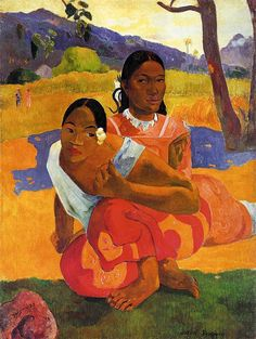 by Paul Gauguin in oil on canvas, done in . Now in a private collection. Find a fine art print of this Paul Gauguin painting. Paul Gauguin, Henri Matisse, Oil On Canvas, Canvas Art, Canvas Prints, Canvas Size, Framed Canvas, Large Canvas, Painting Canvas
