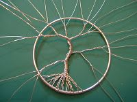detailed tree of life tutorial  bottom-up bare branches #necklace #bracelet #branch #tree #nature #diy #craft #wirecraft #wire #twist