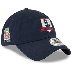ed63f71ee056 Men s Boston Red Sox New Era Navy 2018 World Series Champions Home Plate 9TWENTY  Adjustable