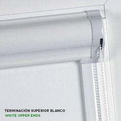 Estores enrollables corti glass terminación superior de cortinadecor Blinds For Windows, Toilet Paper, House Plans, Curtains, Doors, How To Plan, Bedroom, Windows, Good Ideas