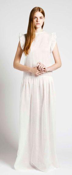 White Antoinette Dress by Samuji.