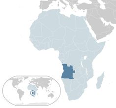 Location Angola AU Africa.