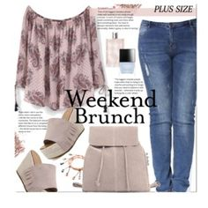Weekend Brunch (plus size fashion).....jury still out on the shoes....cripple girl problems