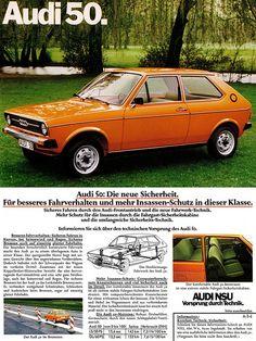 #Audi 50 (1975) #tradition