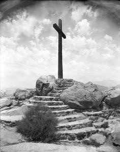 Cross at Mount Rubidoux in Riverside, CA