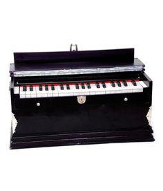 SG Musical Basic Harmonium  Mahogany Color,2 Reeds,3 1/4 Octaves