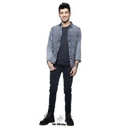 Buy a NEW - Zayn Malik Cardboard Cutouts here at 1dcardboardcutouts.com. Life-size standups of 1D. The best gift.